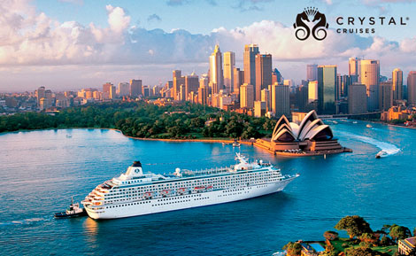 Viajes en Crucero. Crystal Cruise