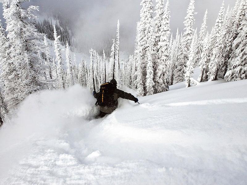 Viaje de ski en Estados Unidos