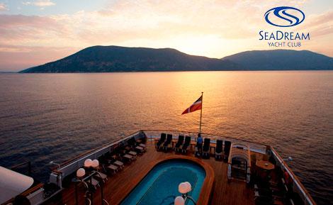 Viajes en crucero. SeaDream Yacht Club