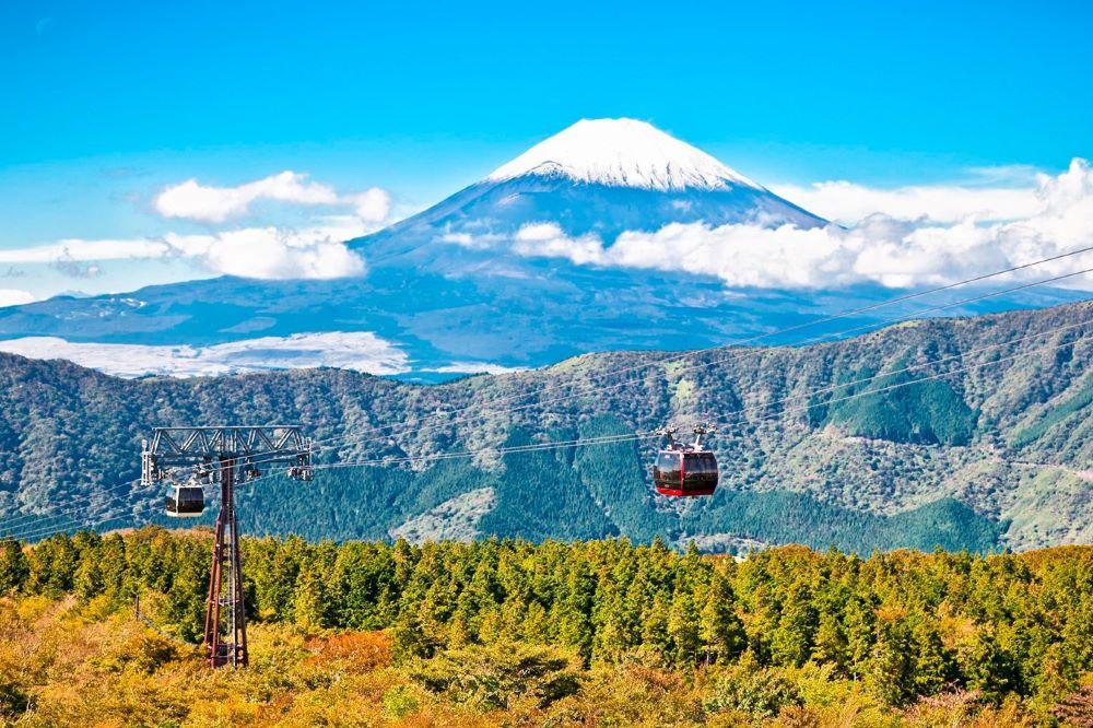Viajar por japon-hakone-teleferico