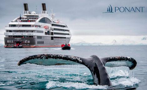 Viajes en Crucero. Ponant Cruises