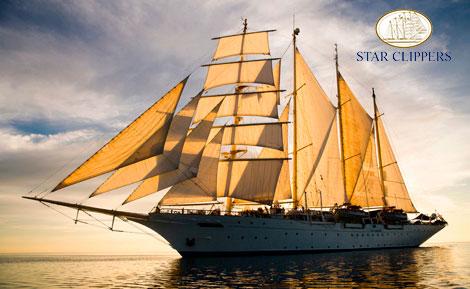 Viajes en crucero. Star Clippers