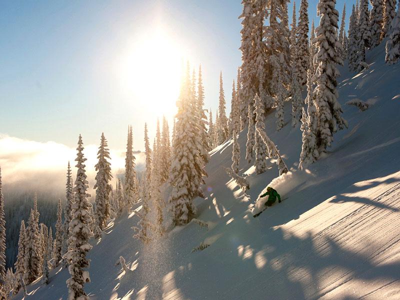 Trans – Canadá Ski Experience