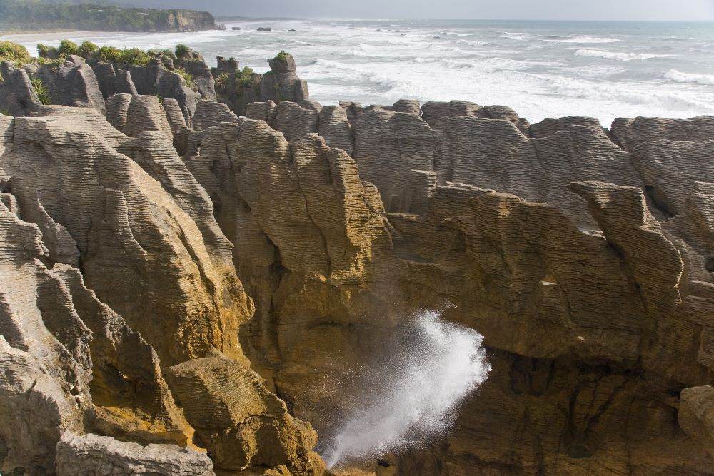 Viajar a Nueva Zelanda-pancakerocks