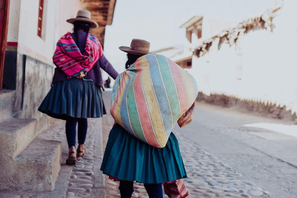 Viajar a Perú-cuzco-mujeres