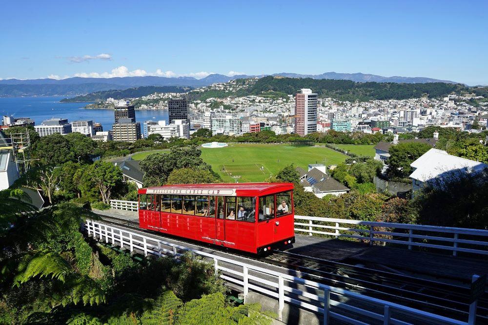 Viajar a Nueva Zelanda-wellington-cable-car