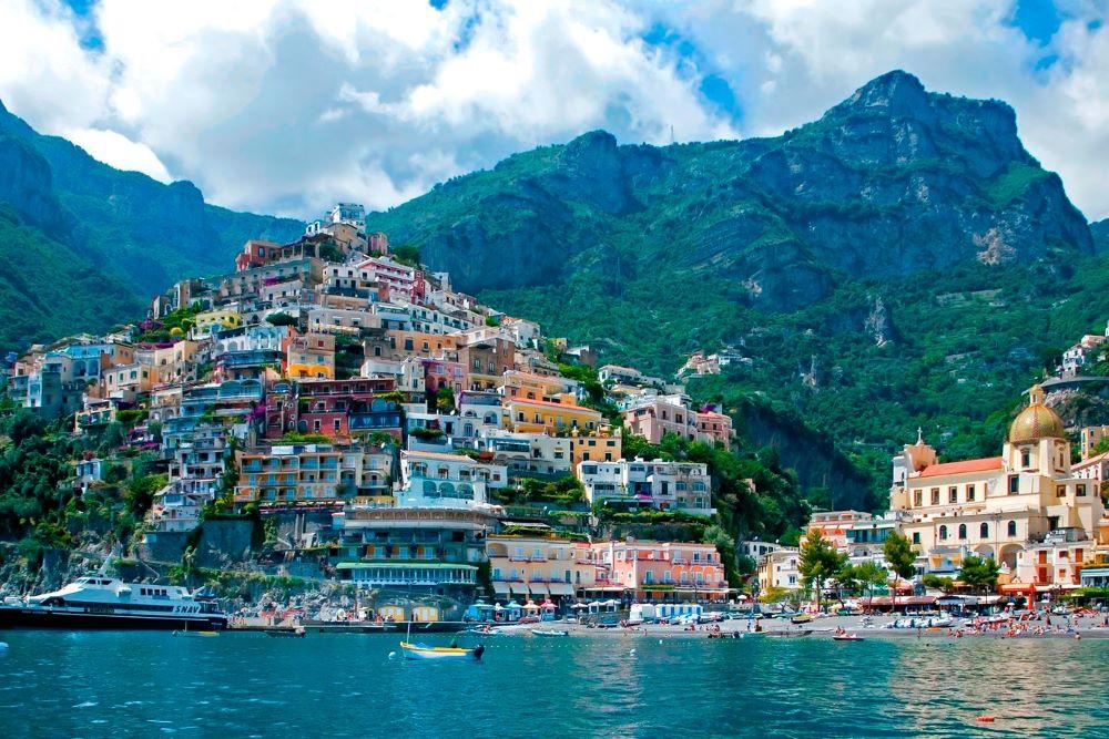Viajar a Italia-positano
