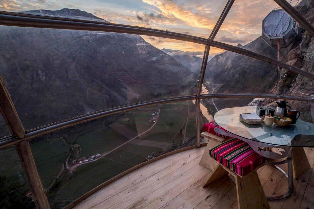 Viajar a Perú-skylodge