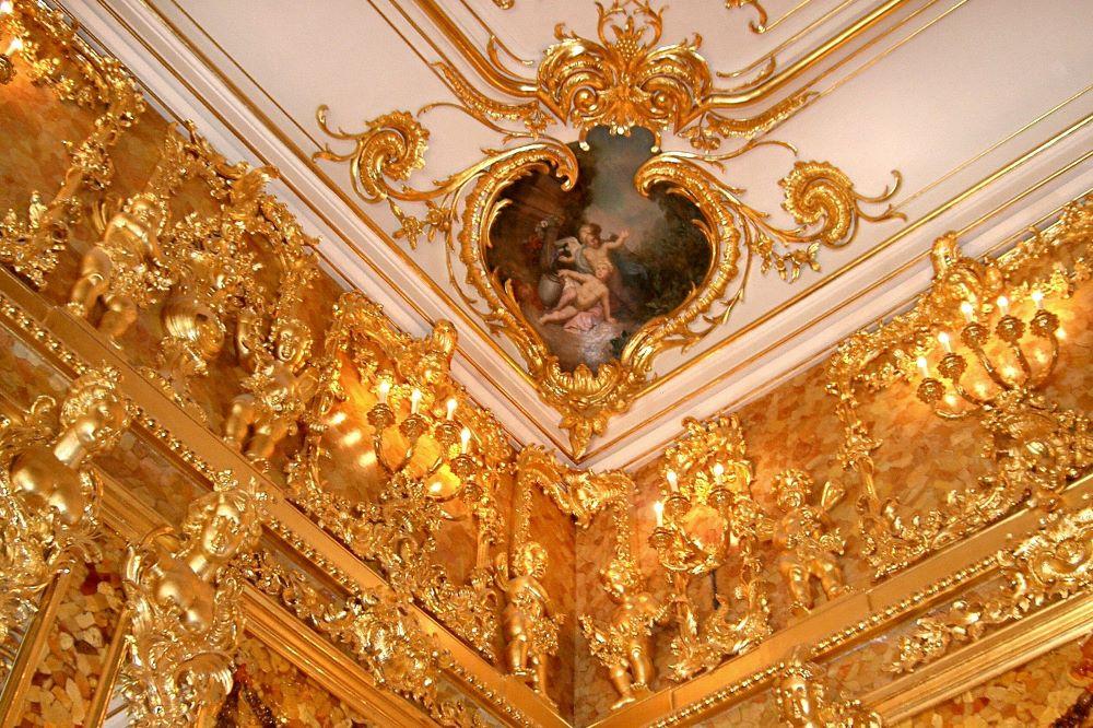 Viajar a Rusia-amber-room