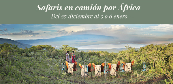 Nuba Everywhere. Safaris en camión