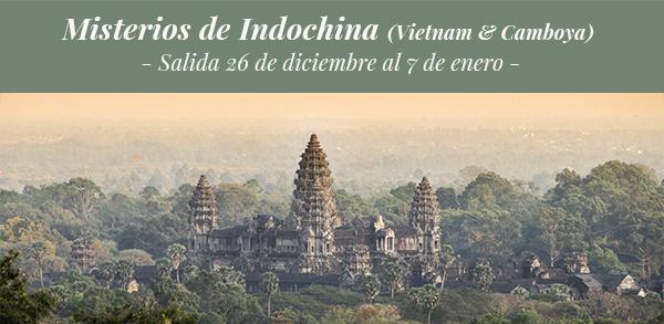 Viaje para conocer los misterios de Indochina