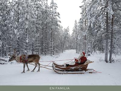 Viajar en familia - Laponia-post