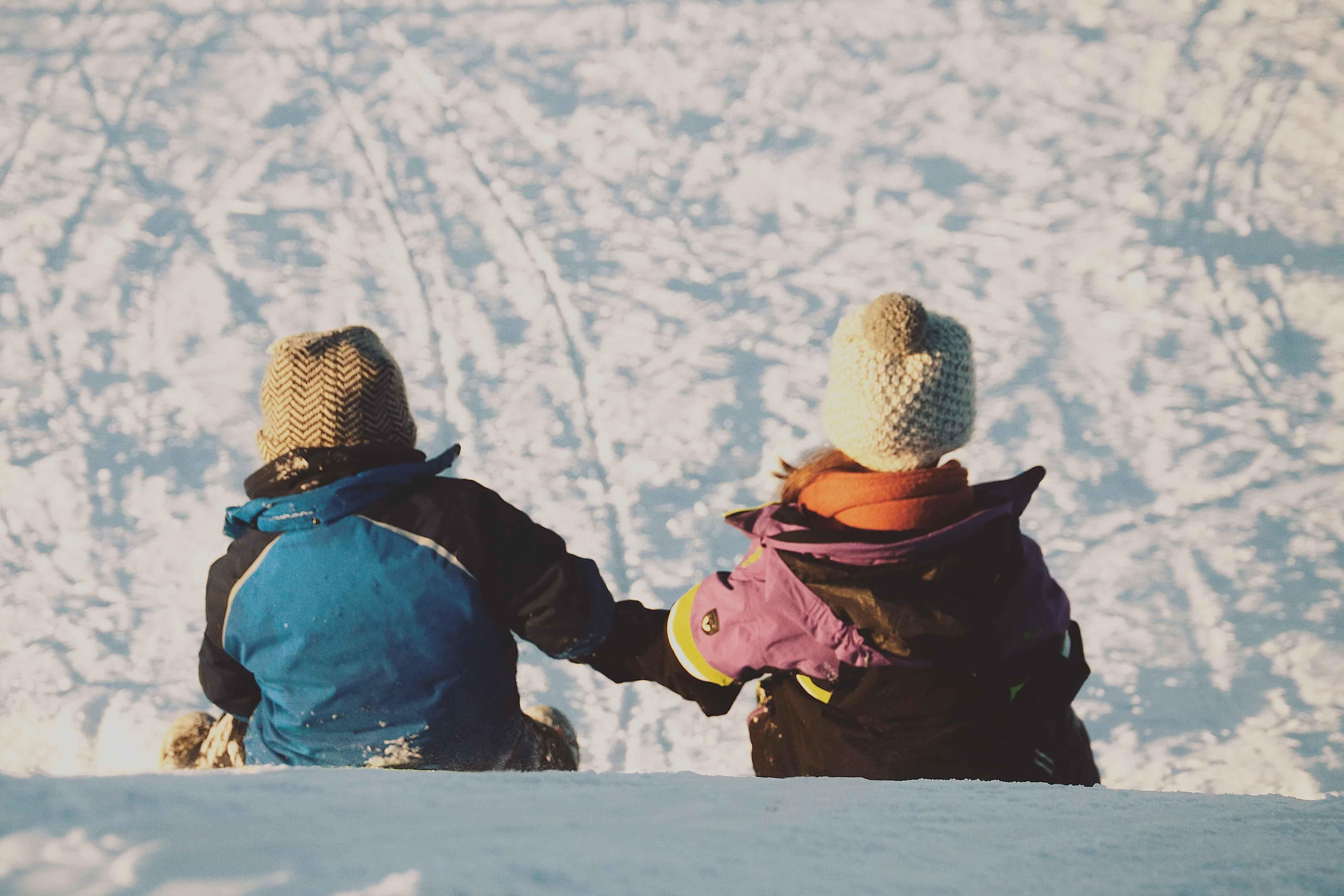 Ruka. En familia a Laponia.NUBA everywhere. Niños jugando2