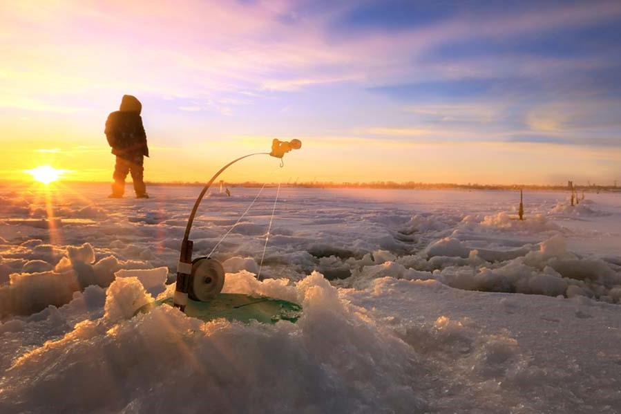 Ruka. En familia a Laponia.NUBA everywhere. Pesca en hielo