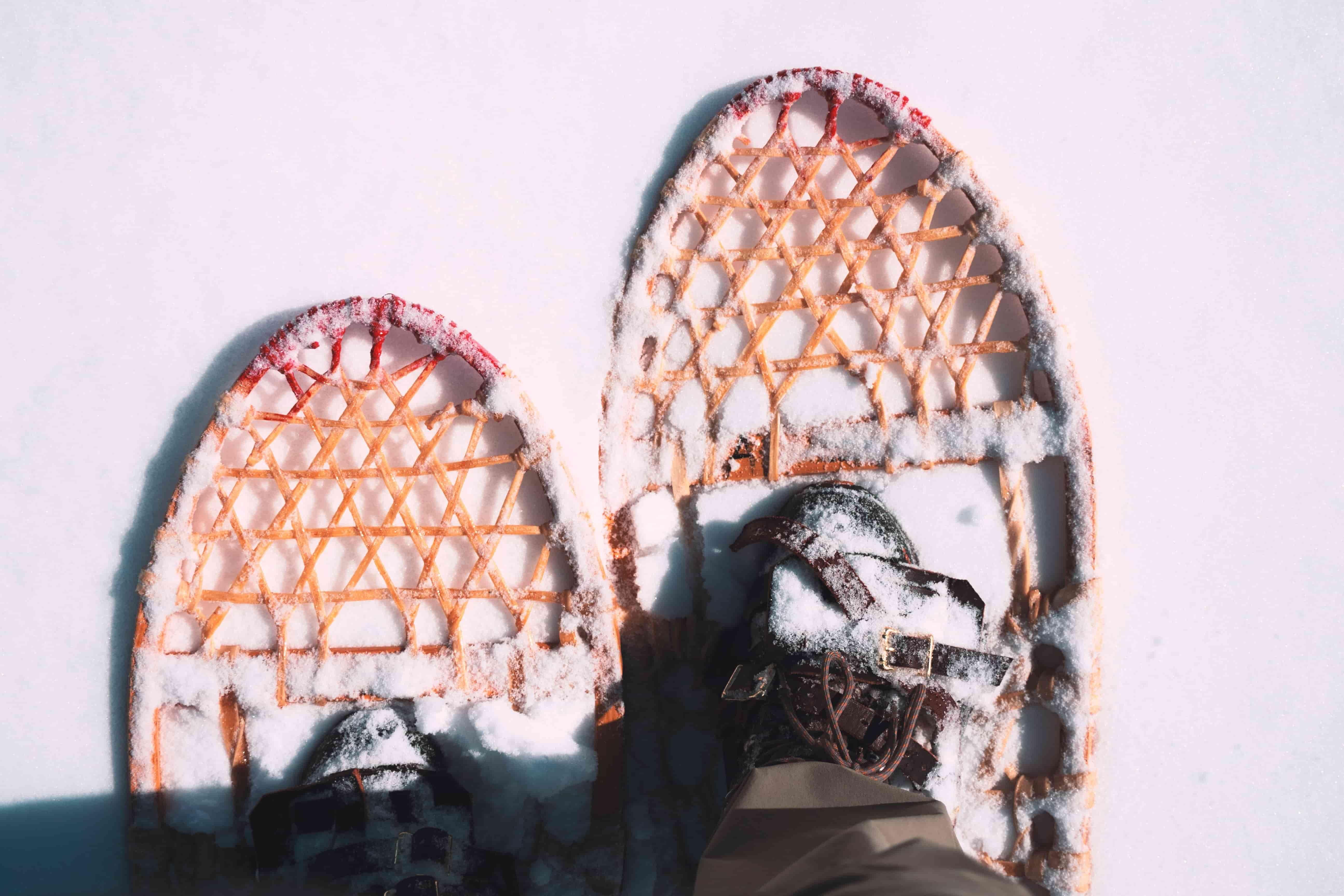 Ruka. En familia a Laponia.NUBA everywhere. Raquetas de nieve