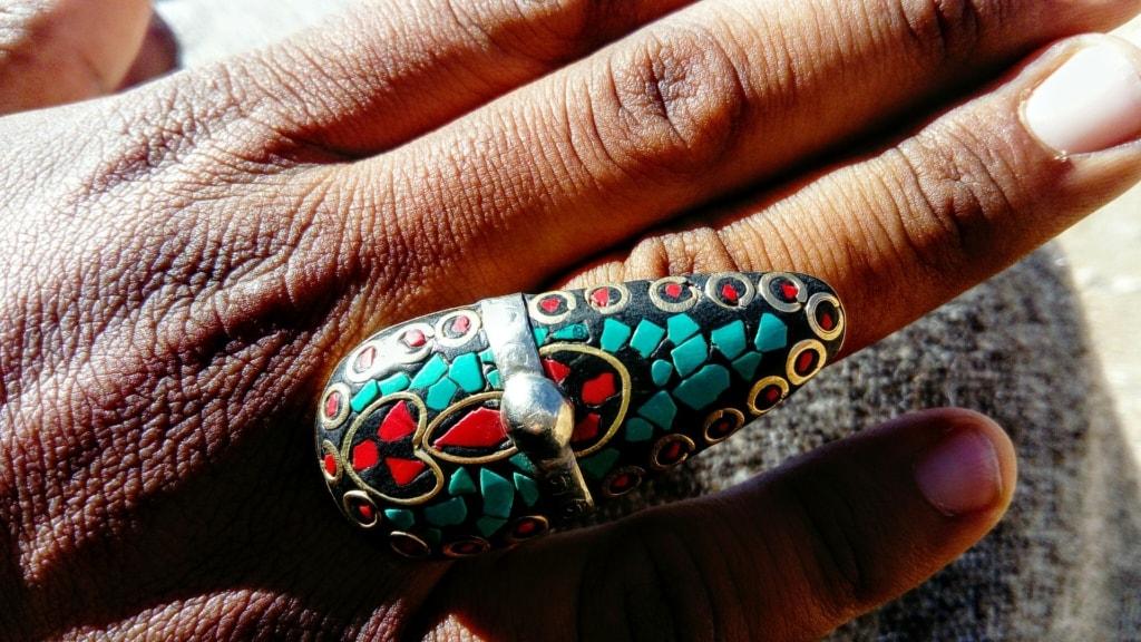 En busca de los Reyes Magos. Marruecos sur. NUBA Everywhere. Anillo artesanal