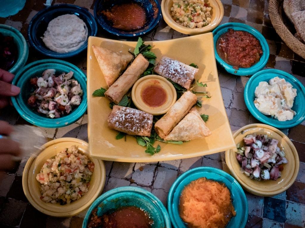 En busca de los Reyes Magos. Marruecos sur. NUBA Everywhere. Comida marroquí
