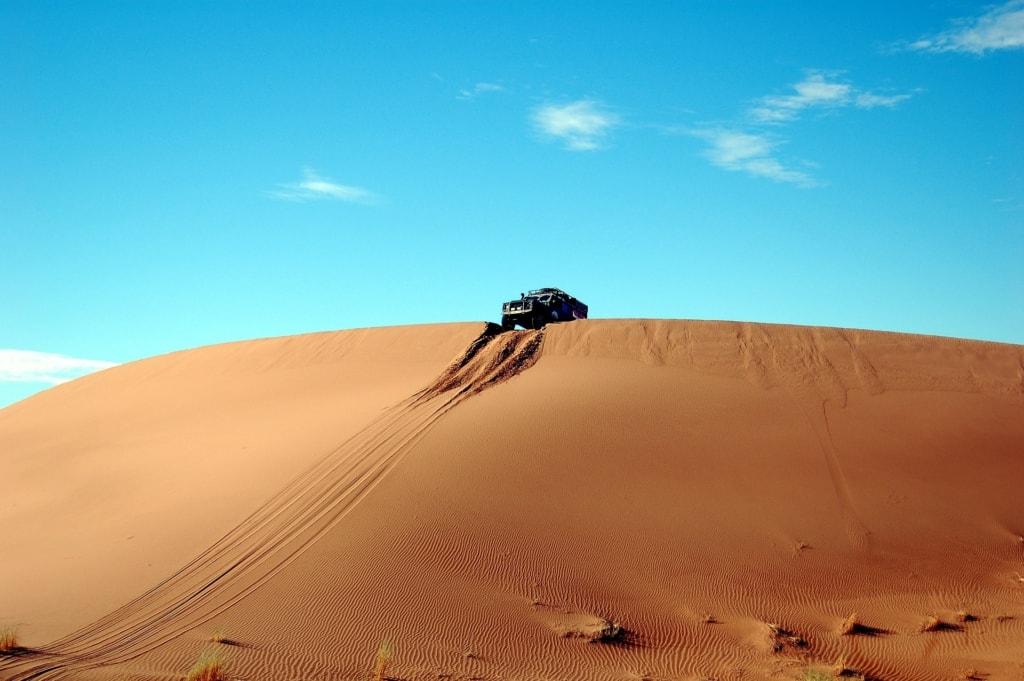 En busca de los Reyes Magos. Marruecos sur. NUBA Everywhere. Todoterreno en desierto