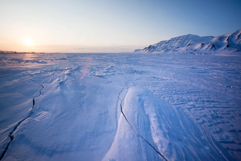 La gran experiencia polar. Ártico noruego. NUBA Everywhere. Atardecer