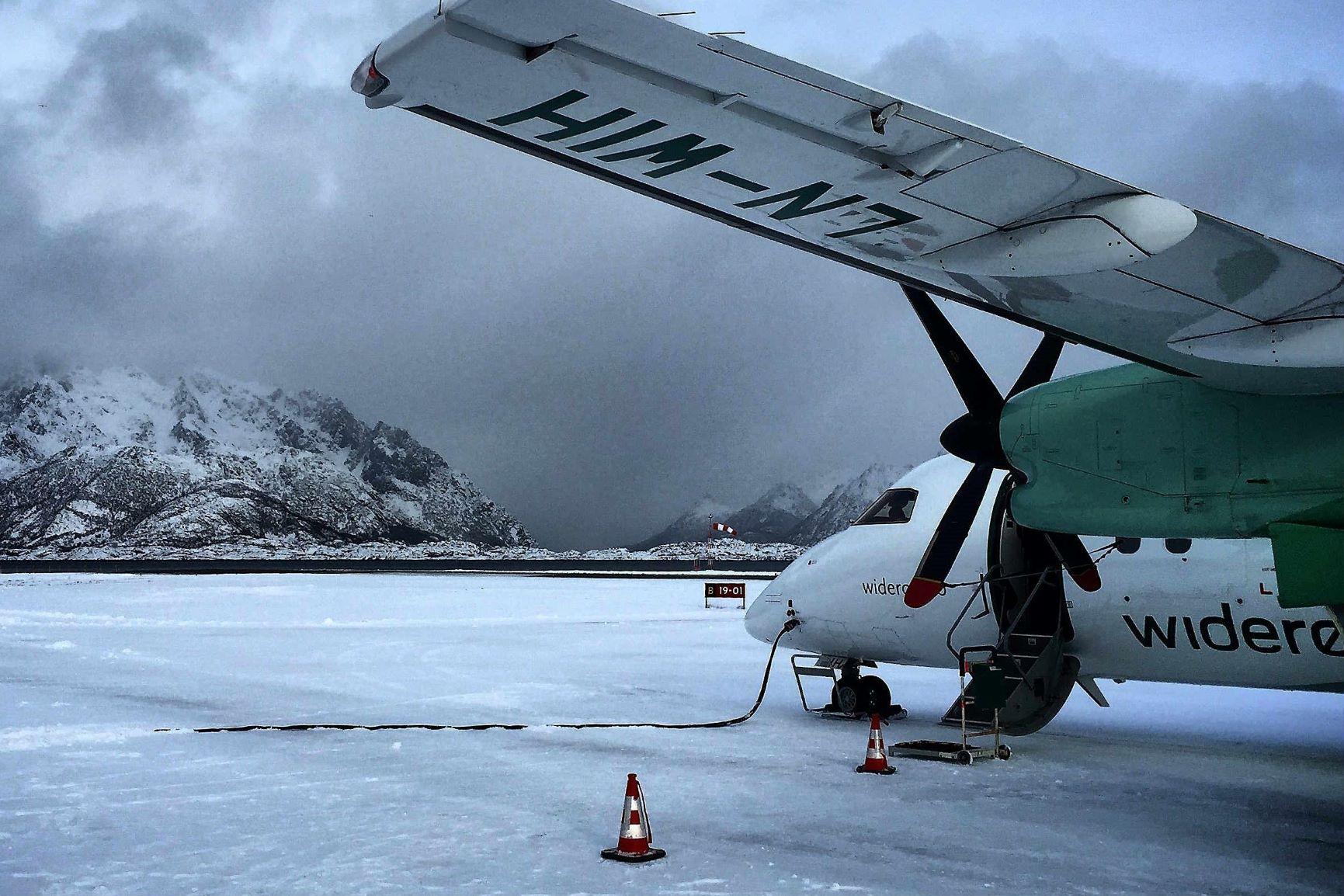 La gran experiencia polar. Ártico noruego. NUBA Everywhere. Avión