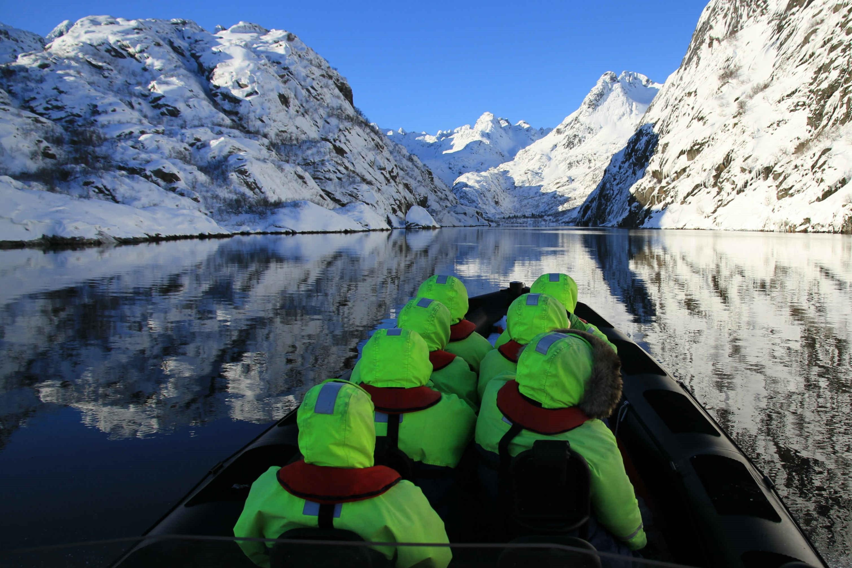 La gran experiencia polar. Ártico noruego. NUBA Everywhere. Lancha