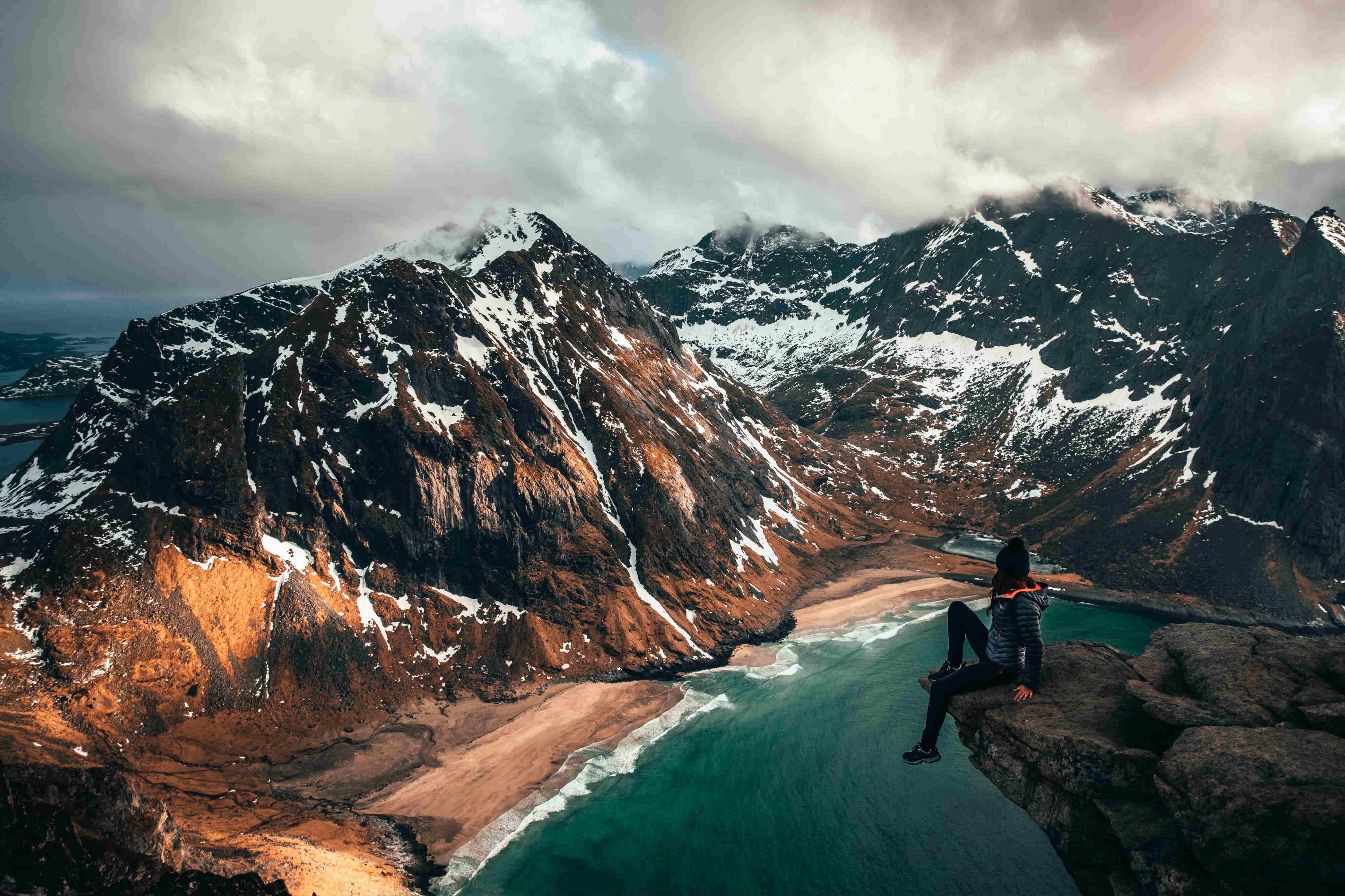 La gran experiencia polar. Ártico noruego. NUBA Everywhere. Lofoten montañas