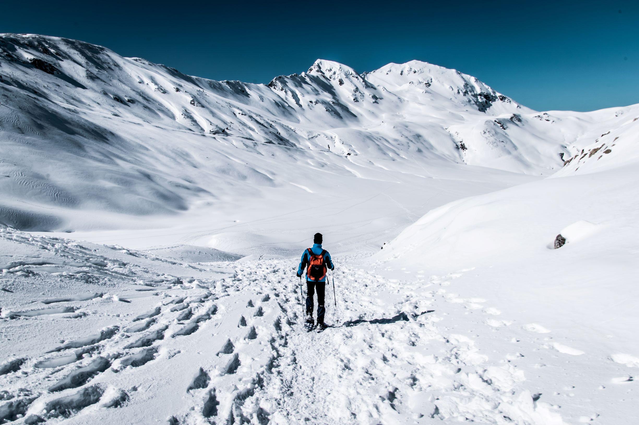 La gran experiencia polar. Ártico noruego. NUBA Everywhere. Raquetas de nieve