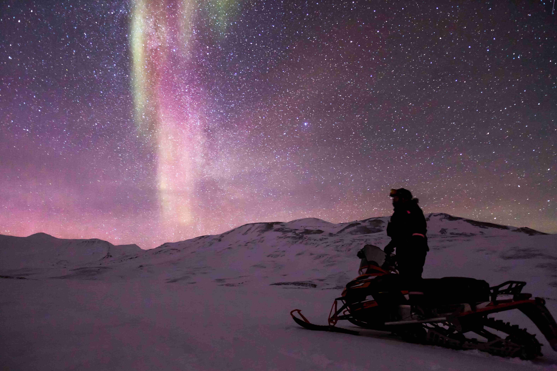 La gran experiencia polar. Ártico noruego. NUBA Everywhere. Motos de nieve