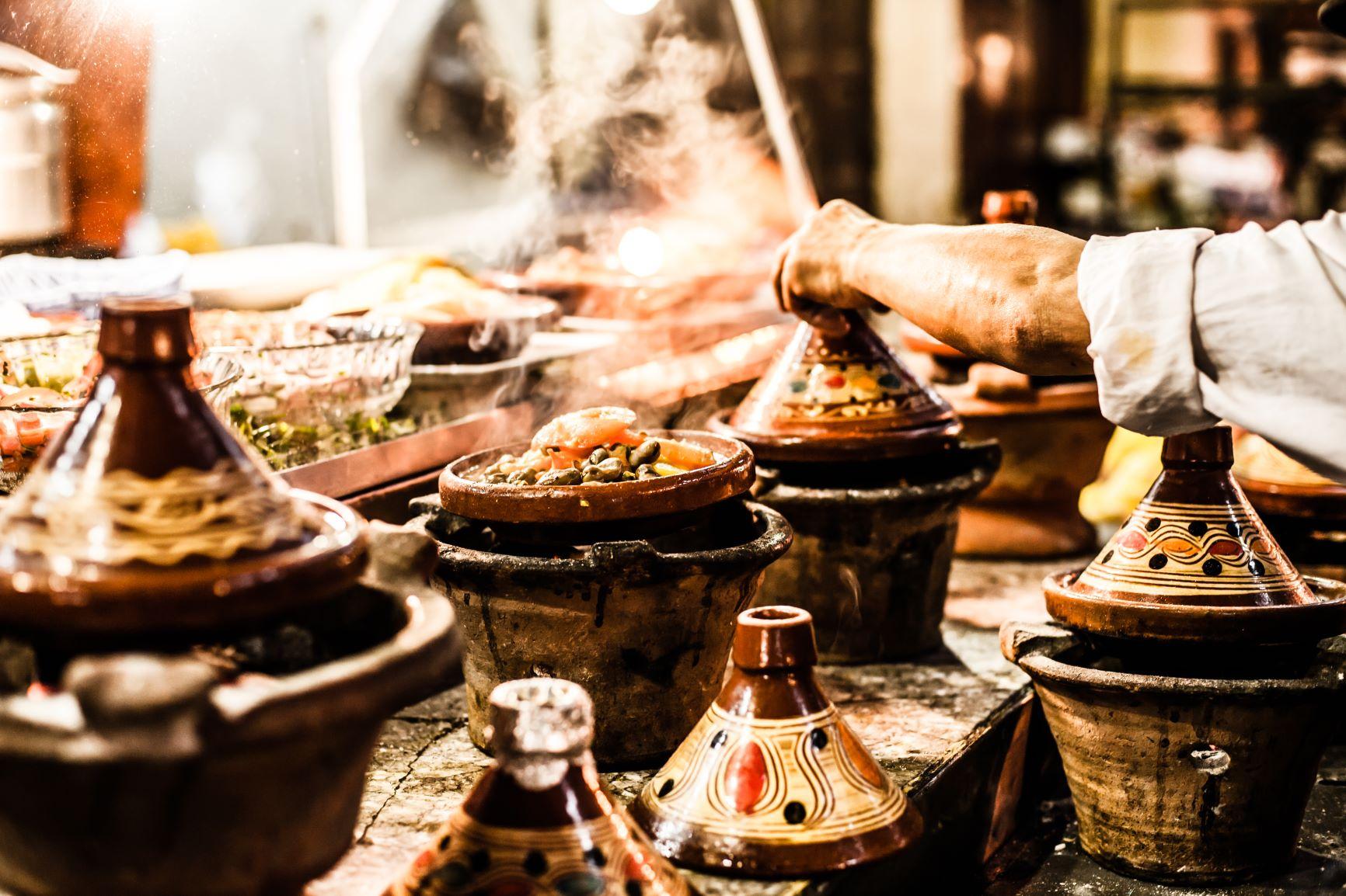 Marrakech. Lujo gastronómico. Nuba everywhere. Comida en la calle