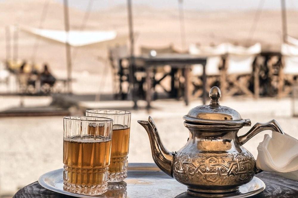 Marrakech. Lujo gastronómico. Nuba everywhere. Té moruno