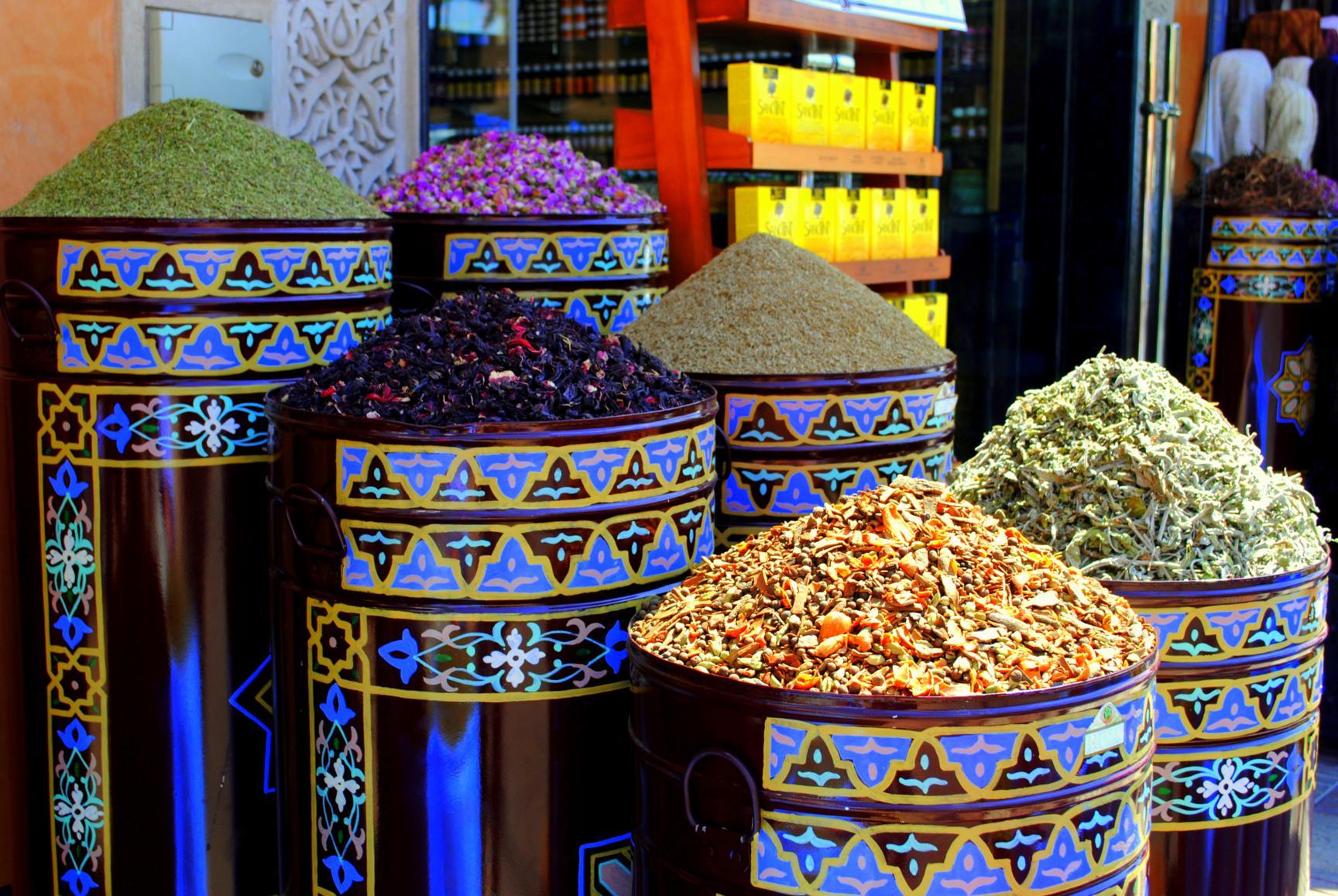 Marrakech. Lujo gastronómico. Nuba everywhere. Especias