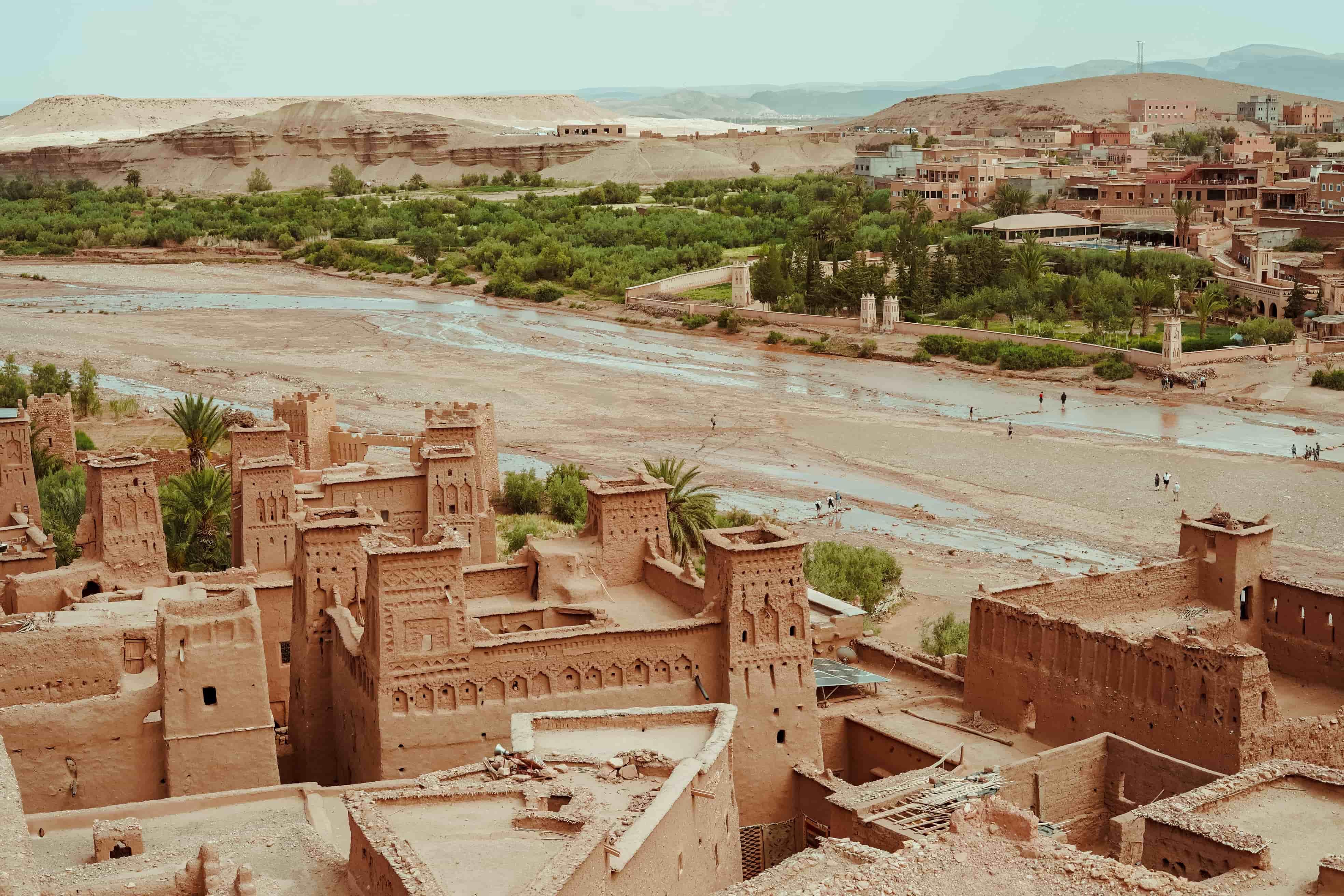 Marrakech. Lujo gastronómico. Nuba everywhere. Ait benhaddou