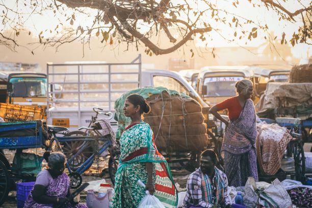 El corazón de un gran país. India del Sur. NUBA everywhere. Chennai compra ambulante