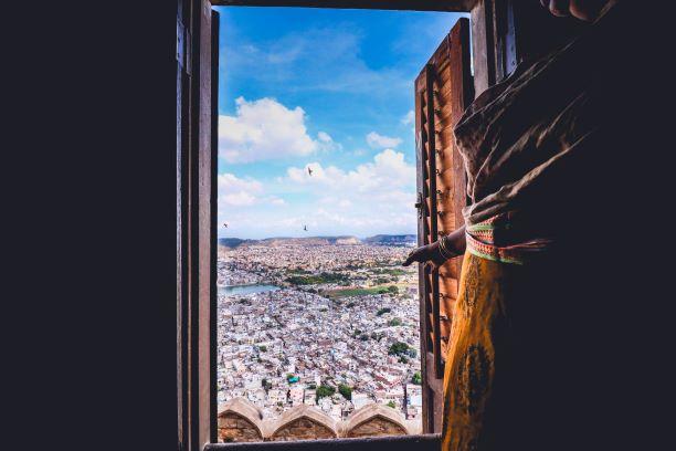 El corazón de un gran país. India del Sur. NUBA everywhere. Ventana vistas a india