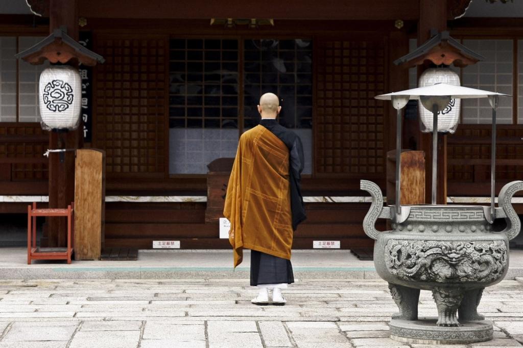 Geishas y samurais. Japón. NUBA everywhere. Templo budista