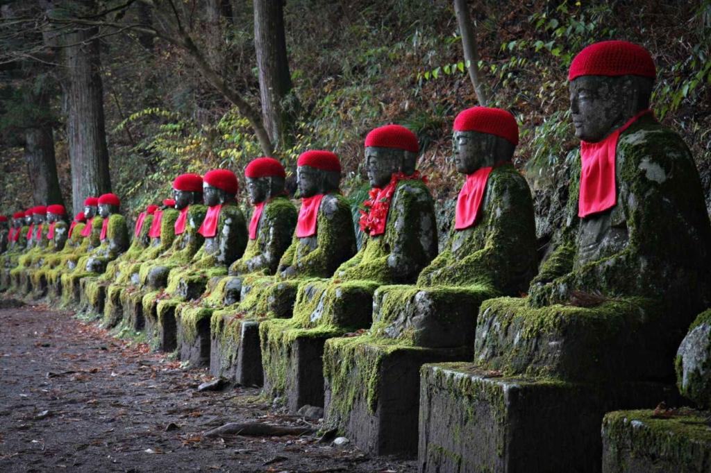 Geishas y samurais. Japón. NUBA everywhere. Jizo Nikko