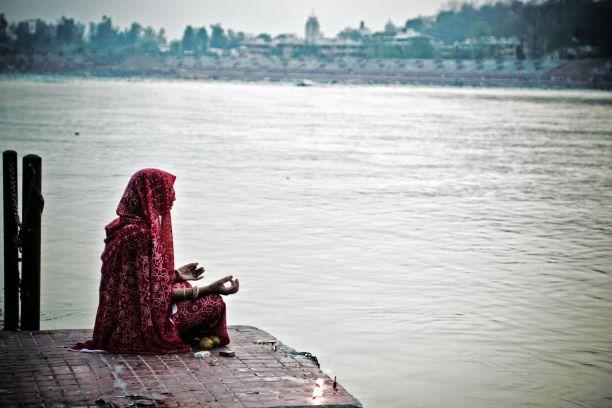 El corazón de un gran país. India del Sur. NUBA everywhere. Mujer ganges