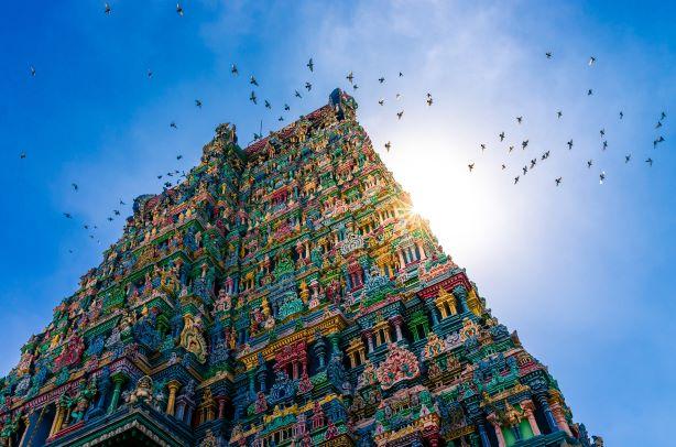 El corazón de un gran país. India del Sur. NUBA everywhere. Templo hindú