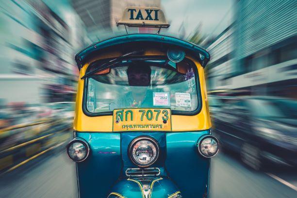 El corazón de un gran país. India del Sur. NUBA everywhere. Rickshaw