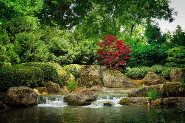 Geishas y samurais. Japón. NUBA everywhere. Jardin Kenrouen