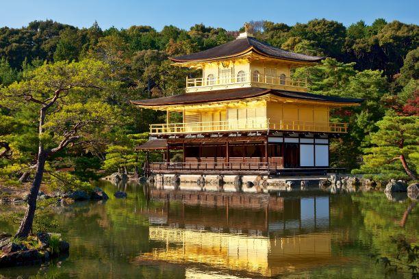 Geishas y samurais. Japón. NUBA everywhere. Kinkakuji templo Kyoto