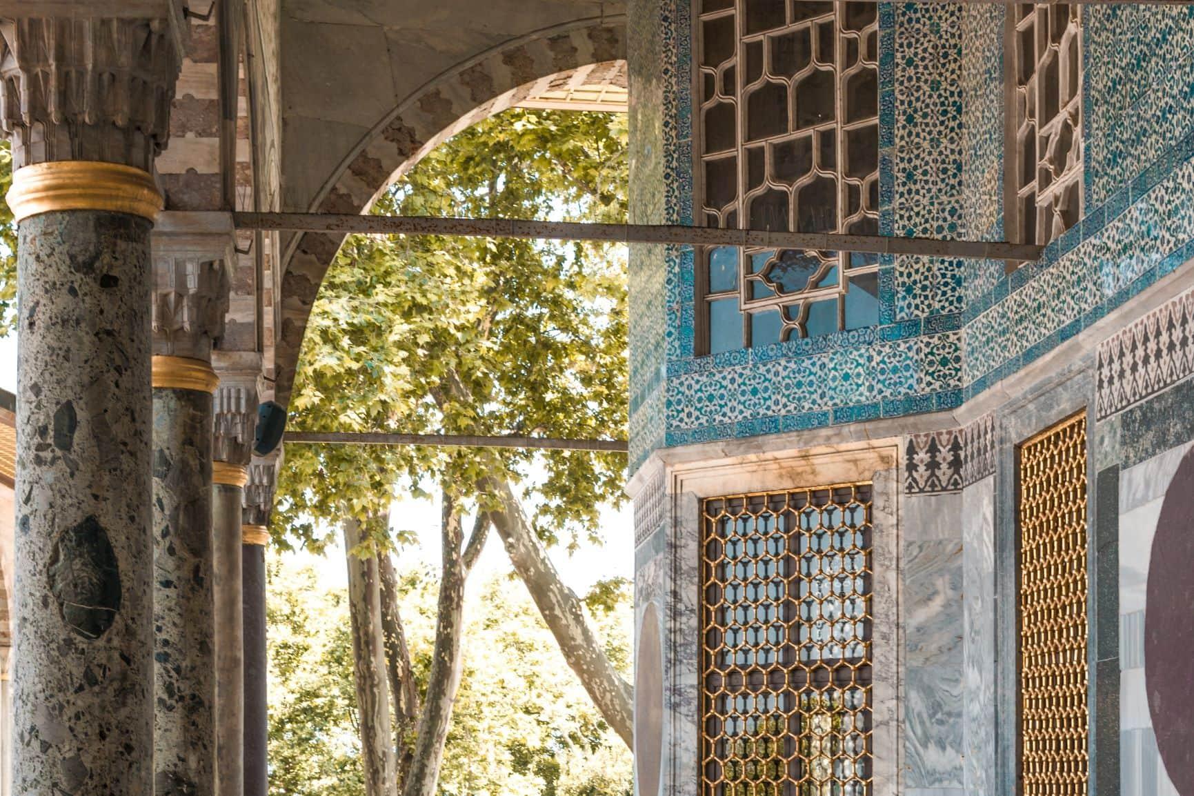 Entre Oriente y Occidente. Turquía. NUBA everywhere. Palacio de Topkapi