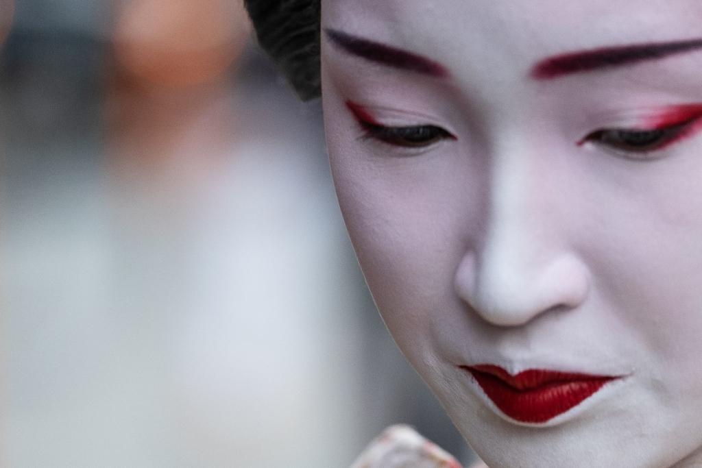 Geishas y samurais. Japón. NUBA everywhere. Geisha