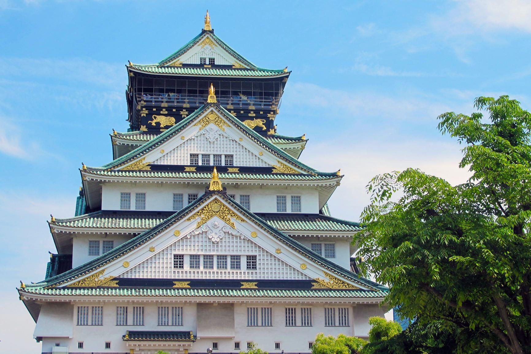 Geishas y samurais. Japón. NUBA everywhere. Castillo Osaka