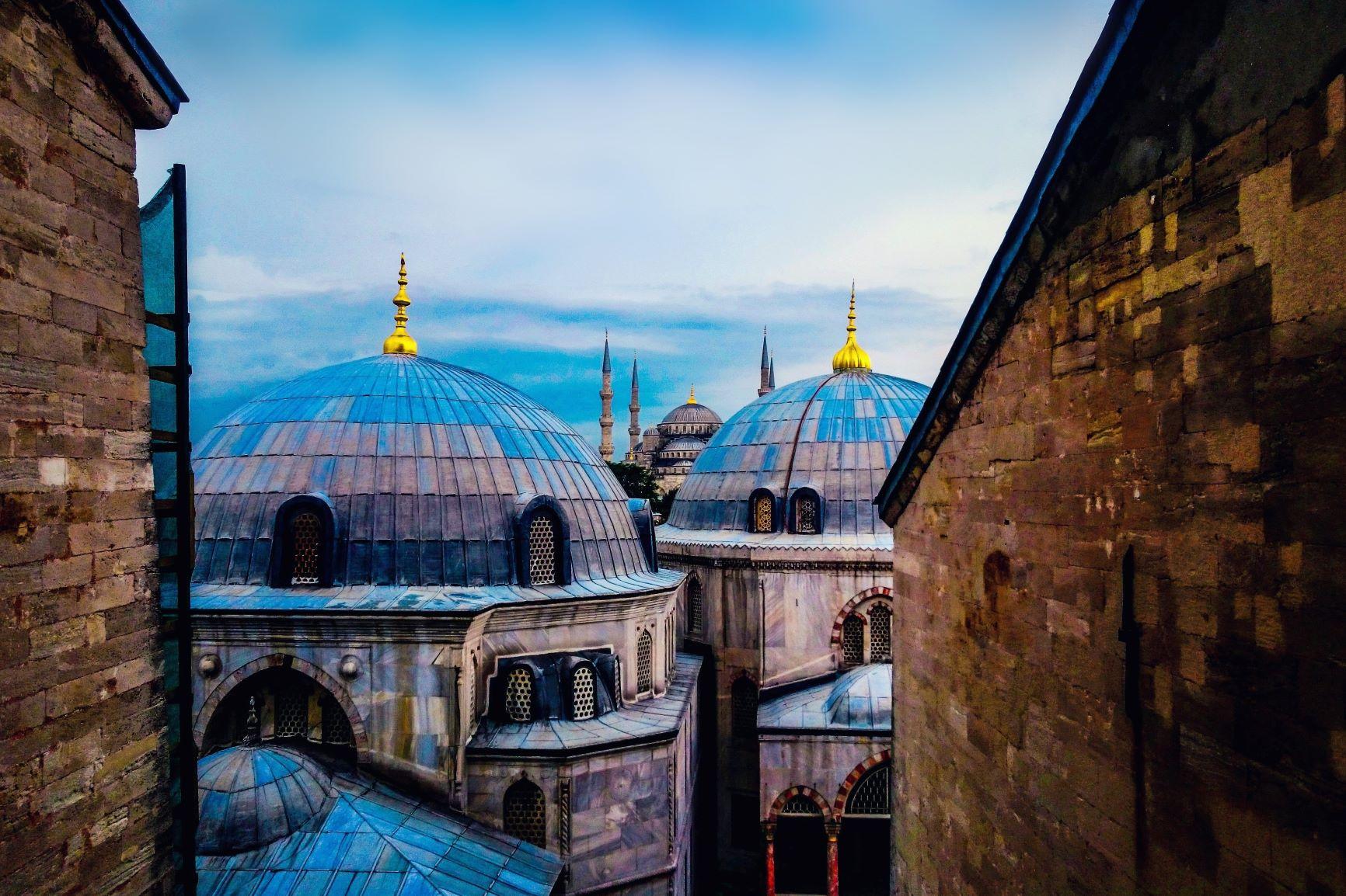 Entre Oriente y Occidente. Turquía. NUBA everywhere. Museo Hagia Sofia
