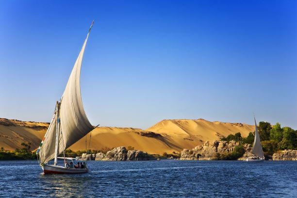 Tierra de faraones. Egipto. NUBA everywhere. Faluca