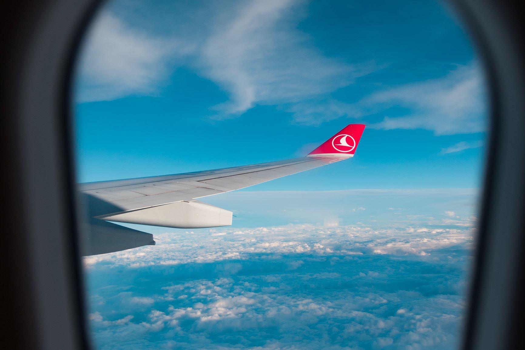 Entre Oriente y Occidente. Turquía. NUBA everywhere. Avión Turkish airline