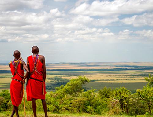 Kenia. De visita al poblado Masai