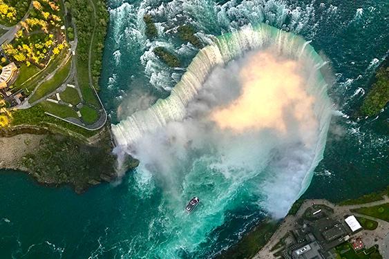 Canadá Challenge. El viaje de los retos. NUBA everywhere. Niágara falls
