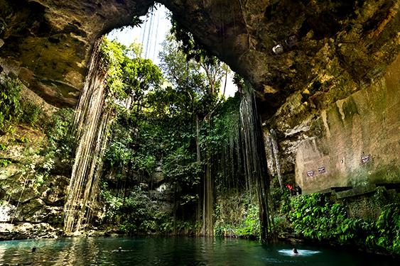 Mexico. El viaje pirata. NUBA everywhere. Cenote